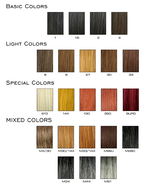 Weave hair color chart photosgratisylegal weave hair color chart pmusecretfo Choice Image